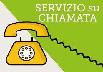 SERVIZIO SU CHIAMATA